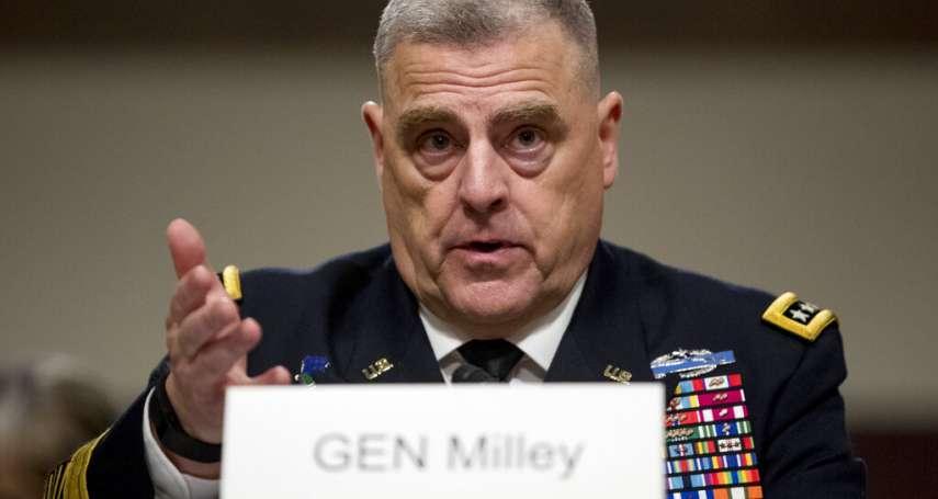 未來美軍最高將領怎麼看中國?參謀首長聯席會議候任主席:美軍今後百年的頭號威脅