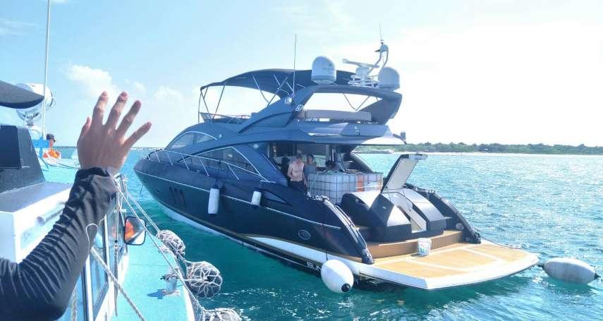 海巡成功國際人道救援 東沙島馳援故障港籍遊艇