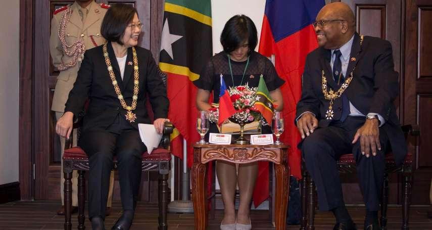 台克建交推手贈最高榮譽勳章 總統:夥伴關係最大肯定