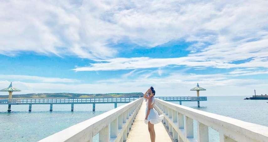 誰說澎湖一定要搭船才能賞美景!精選5處本島絕美私房景點,快來趟舒服的夏日旅行吧!