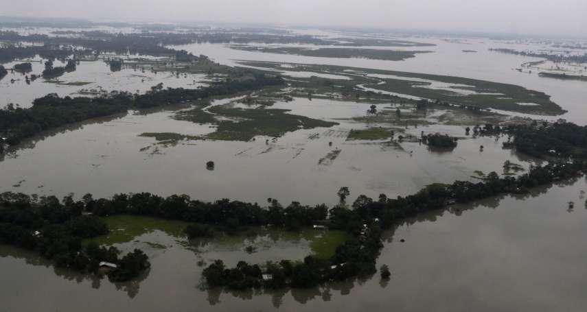 南亞季風暴雨災情慘重:洪水、土石流釀百死,印度、尼泊爾數萬災民流離失所
