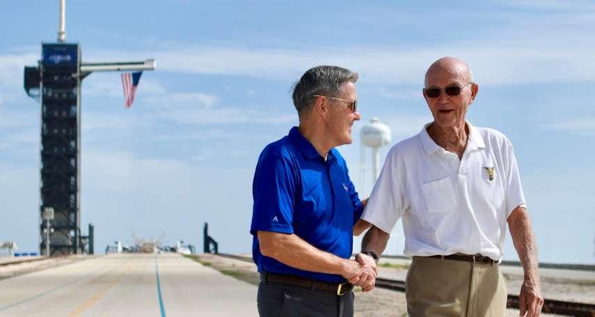 阿波羅登月50周年》「被遺忘的太空人」柯林斯:我不想重返月球,我要直上火星