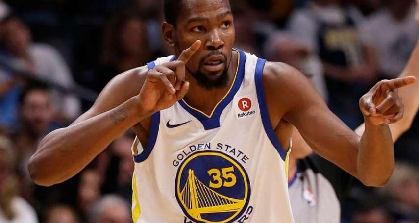 NBA大咖球星中鏢!杜蘭特確診武漢肺炎,籃網4人遭感染