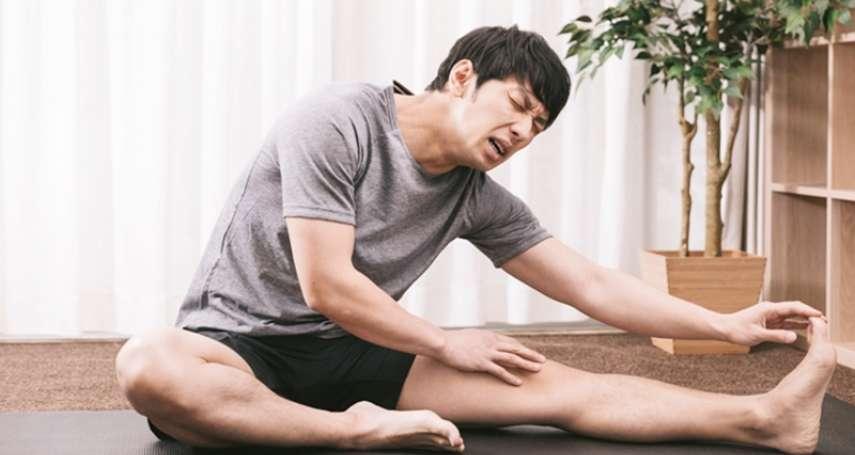 運動後花個5到15分鐘收操,絕對有必要!保護膝蓋的秘訣與拉筋大全