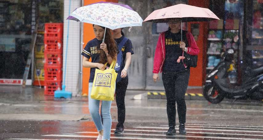 外出記得帶傘和外套!東北風今晚增強,北台灣轉濕涼