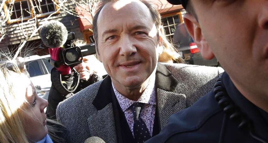 《紙牌屋》總統能全身而退?證據不足,檢察官取消對凱文史貝西的性侵控訴