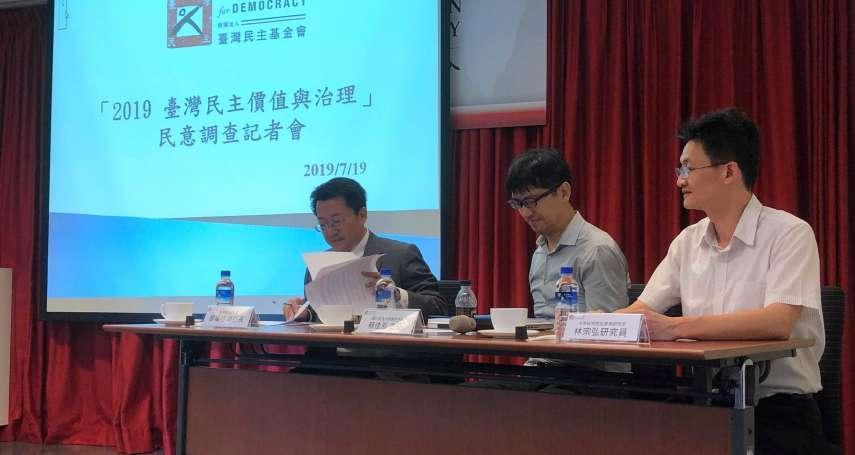 「若台灣宣布獨立導致中國武力攻台」台灣民主基金會民調:過半民眾願為保衛台灣而戰