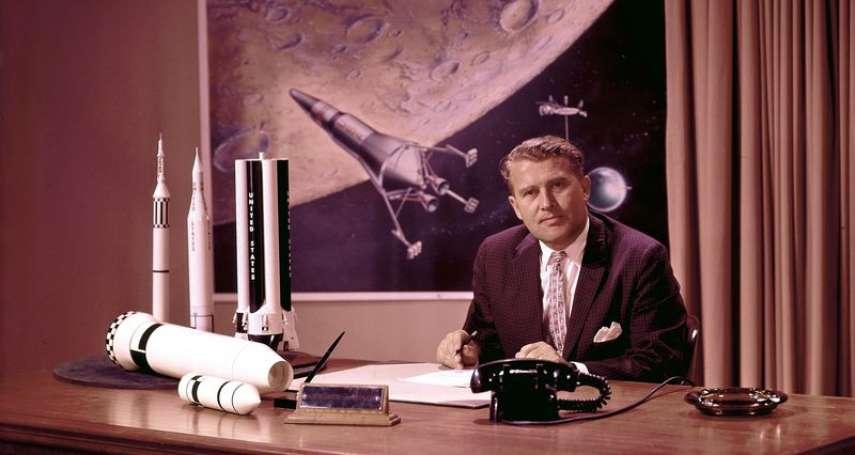 阿波羅登月秘辛》他是美國登月功臣、也是納粹餘孽──德國火箭科學大師馮布朗