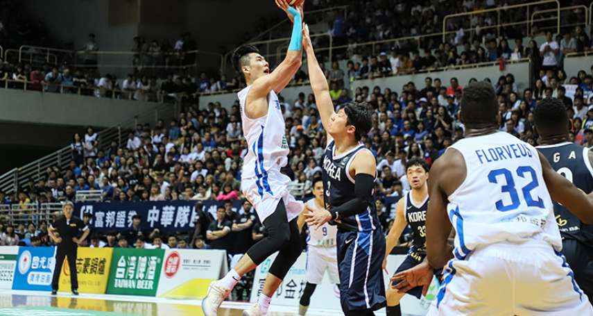 瓊斯盃》中華藍6分差惜敗韓國 帕克:球員已經付出了一切