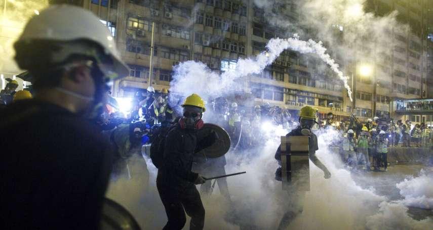 新新聞》香港反送中衝突升級,白衣人「恐攻」,警方知情不阻?