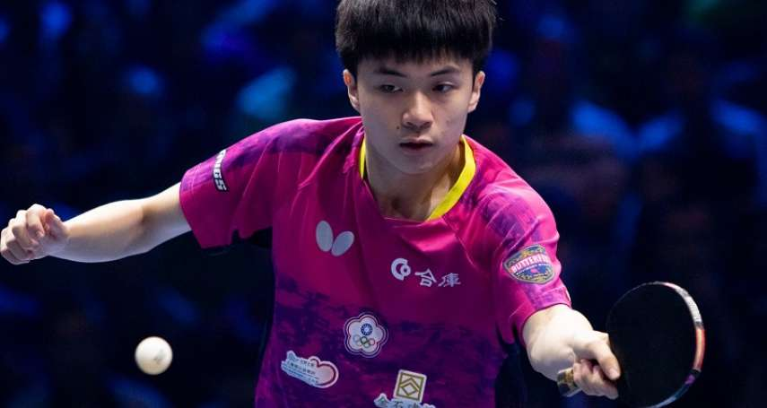 桌球》林昀儒擊敗中國名將樊振東 T2桌球鑽石賽奪冠