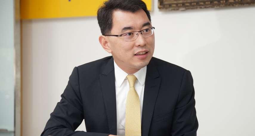 郁慕明放手讓他自己搞!當26歲深藍政黨走向「世代交替」…楊世光選總統當母雞