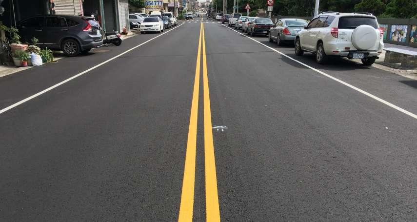 中市建設局燙平178條道路 已完成55.7公里