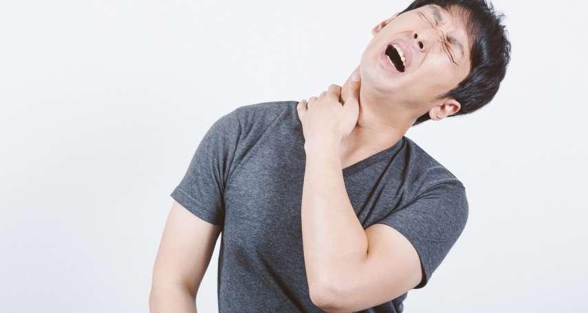 一覺醒來脖子超痛、落枕了?物理治療師教你一招緩解,亂按小心受傷發炎!