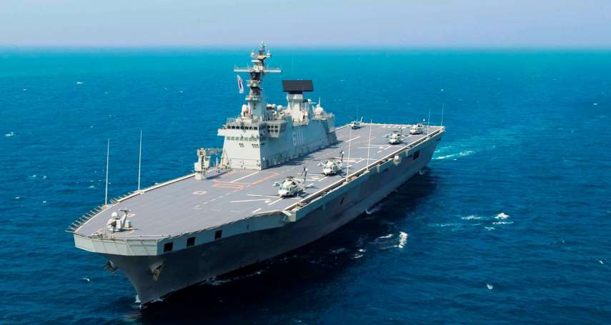 東北亞航母競賽起跑:南韓首艘航空母艦10年內下水,戰力可望超越日艦出雲、加賀