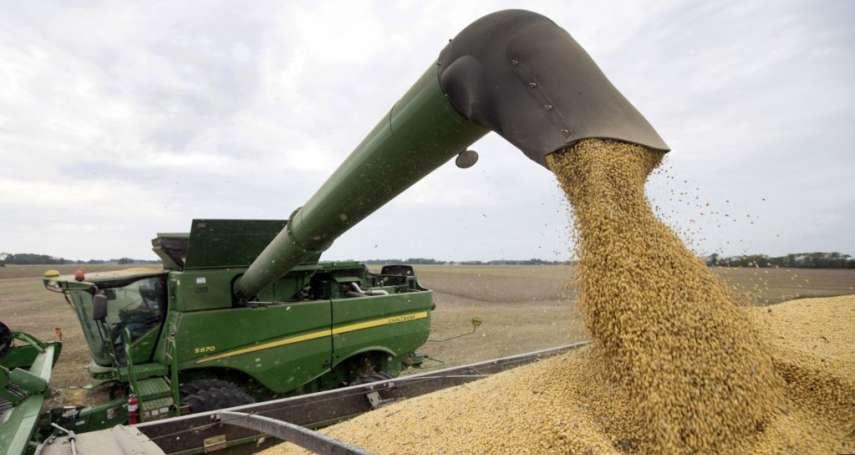 中美貿易戰》對中國出口量創16年新低!美國豆農受到重創,農業部提5000億援助計劃
