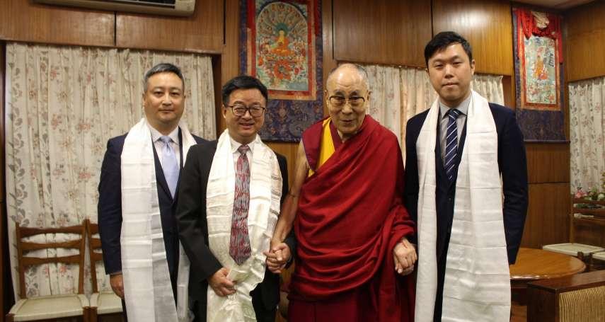 「歡迎達賴喇嘛再來台!」羅文嘉:同受中國壓迫,台灣沒有理由拒絕