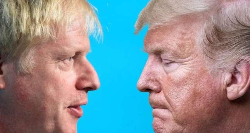 我倆惺惺相惜:當「英國川普」碰上正牌川普,英美將如何演繹兩國「特殊關係」