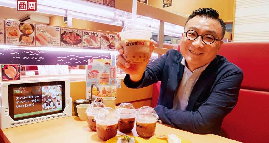 珍奶熱燒日本,歇腳亭一次開500個據點!揭開砸億元聯手壽司郎的代價