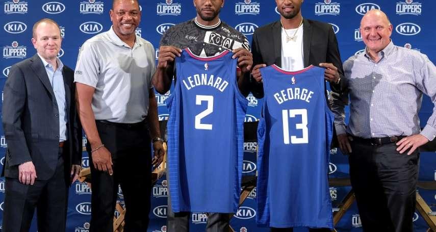 NBA》去年成為雷霆頭號得分手的喬治 能否在快艇奪冠證明自己?