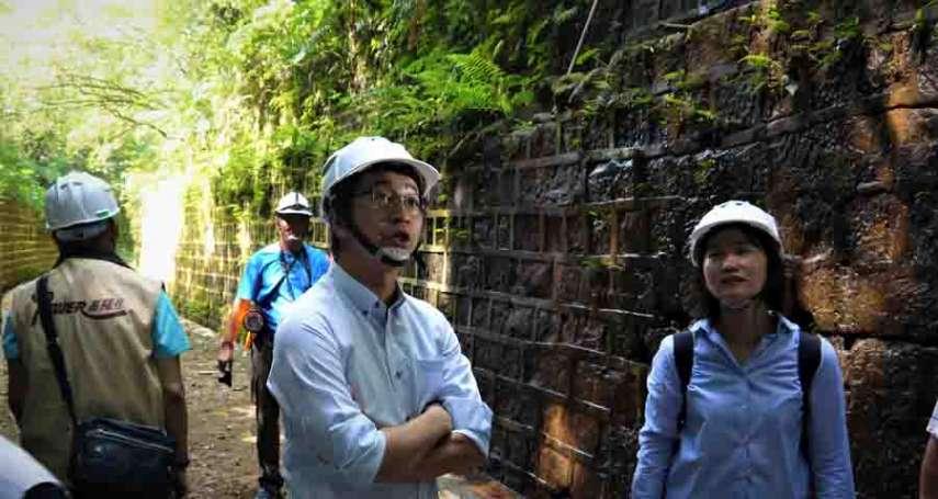 全國唯一劉銘傳鐵路隧道 修復工程已發包