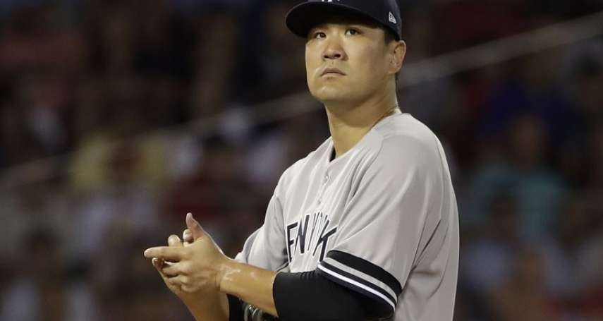 MLB》田中將大遭打爆 不到4局狂丟12分創隊史百年紀錄