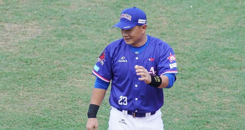 棒球》彭政閔洋將訓練溝通全包 笑稱一個頭兩個大