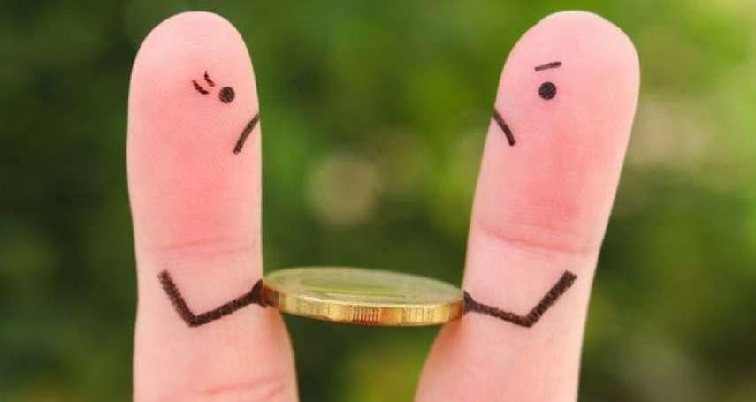 你的錢就是我的錢,不血拼要做什麼?借親友錢才大器?