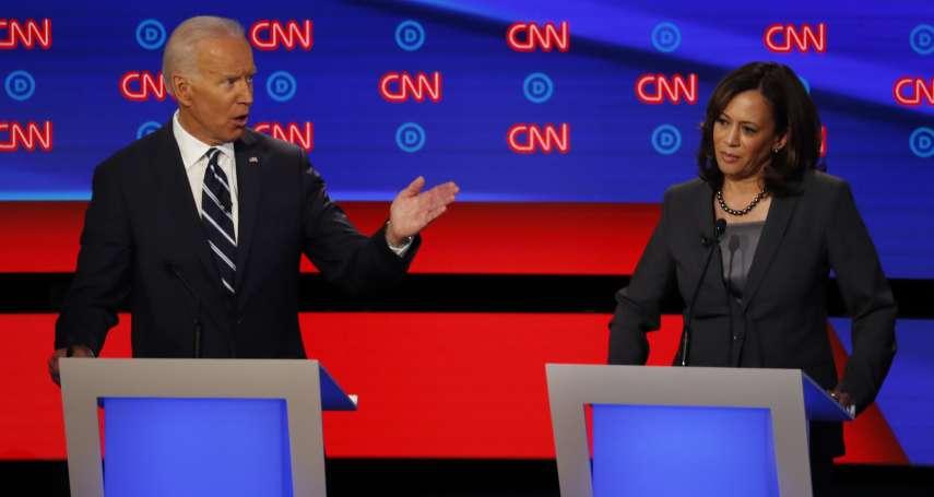 美國民主黨初選辯論第二輪》墮胎權、醫療保險、司法改革、全球暖化成焦點 民調最高的拜登遭眾人圍攻