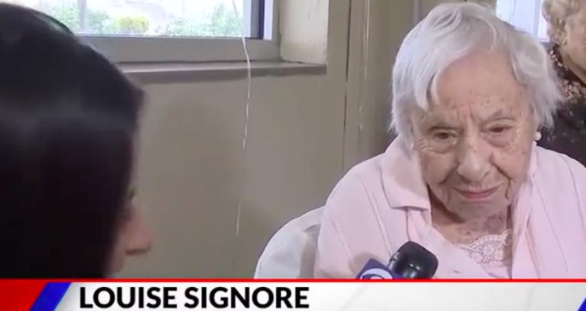 享受一世紀的單身生活!107歲紐約阿嬤分享長壽秘訣:不結婚