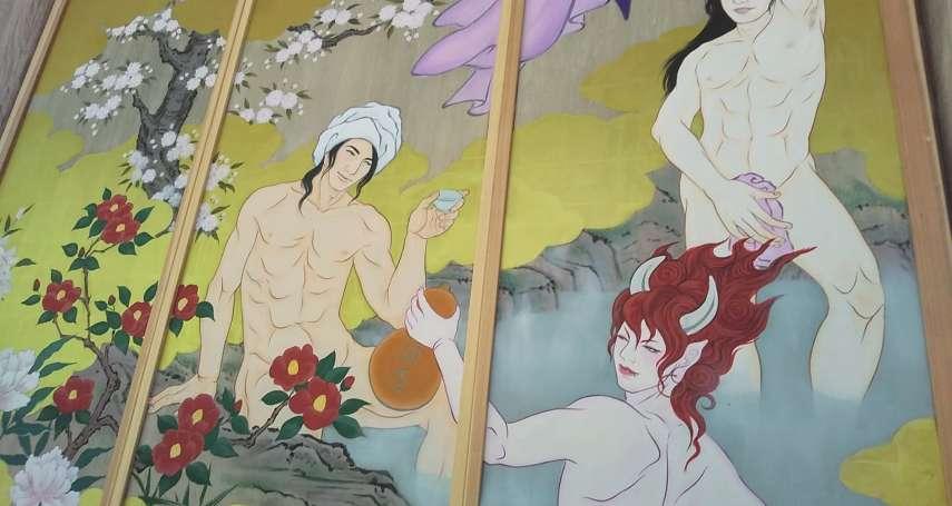 當裸體上杉謙信現身日本千年古剎:新潟國上寺與地方政府的美男繪爭議