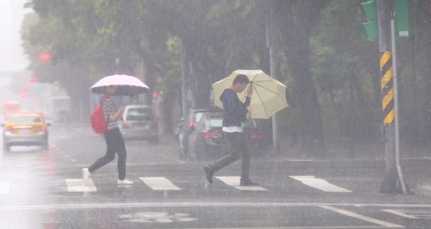 暴雨狂襲全台、20縣市豪大雨特報!高雄傳停電、落石災情