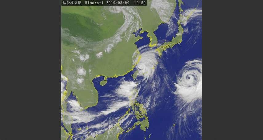 利奇馬颱風哪去了?「台風9號」刮進沖繩釀4人摔傷、1.3萬戶停電