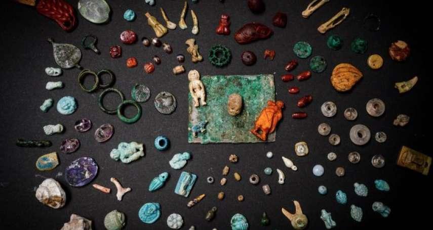 龐貝古城挖出千年藏寶箱!鏡子、護身符、各類寶石、陰莖雕像祈求好運…考古人員:物品主人可能是女性