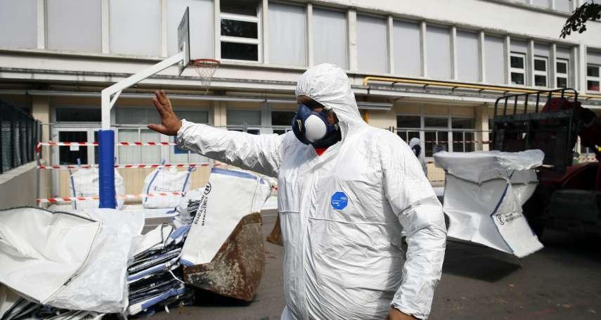 大火後的聖母院成「重金屬汙染源」!300噸含鉛粉塵四散 巴黎展開清除作業