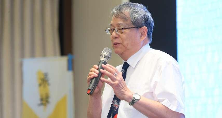 陳師孟:台灣法官沒有制衡單位,監察權是唯一制衡司法的權力