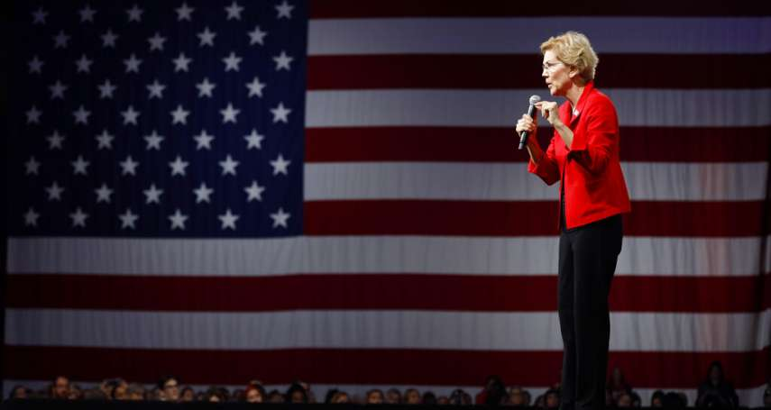 2020美國大選》民主黨女將華倫民調、氣勢領先群雄,卻面臨選民兩大心理關卡