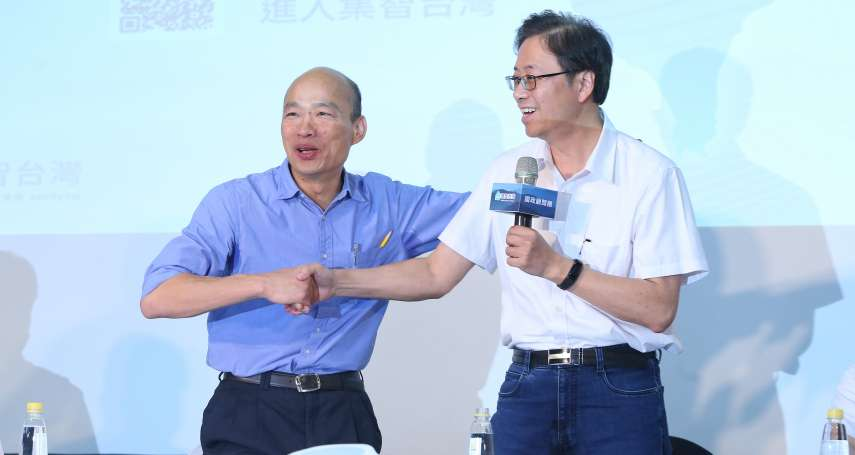 羅智強觀點:韓張配,能夠搶救台灣的公投嗎?