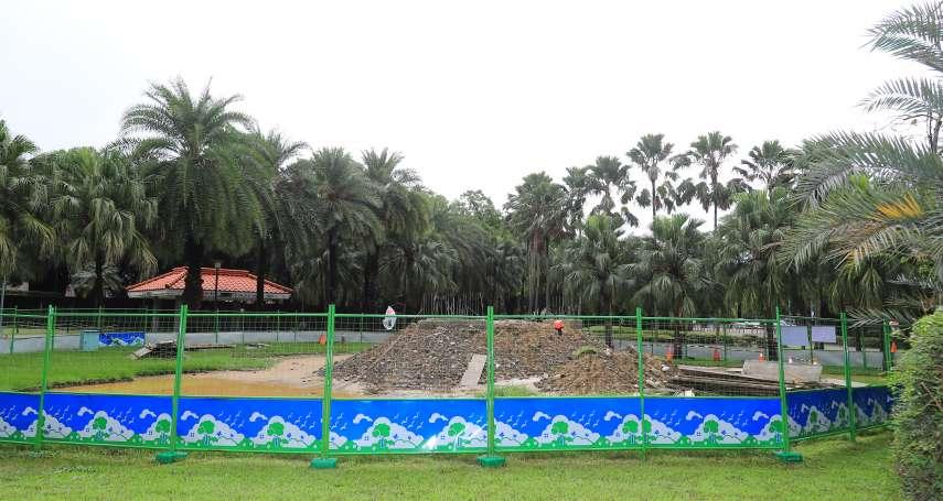 台中美樂地公園改善計畫 東、南區公園共融設施年底完工