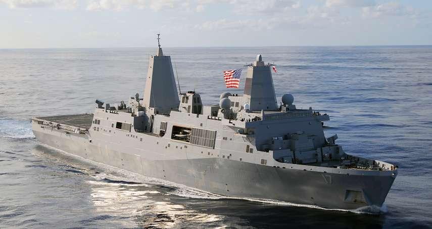 美方才剛宣布售我F-16V戰機 美船塢運輸艦今午通過台海