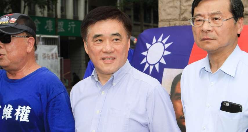 國民黨改造「三個必須」 郝龍斌宣布參選黨主席