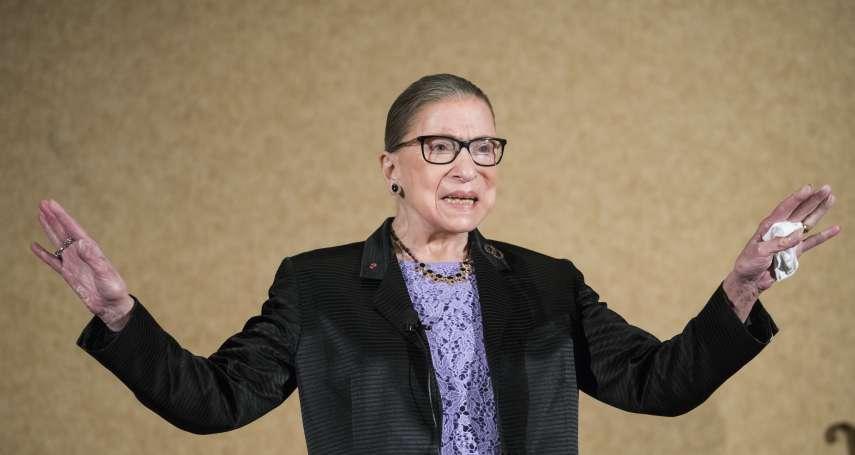 美國「自由女神」大法官金斯堡胰臟癌2年3度復發 但化療也擋不了她繼續工作!