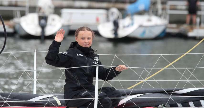 14天成功橫渡大西洋抵紐約!瑞典環保少女鬥士通貝里:對抗氣候危機,現在就採取行動