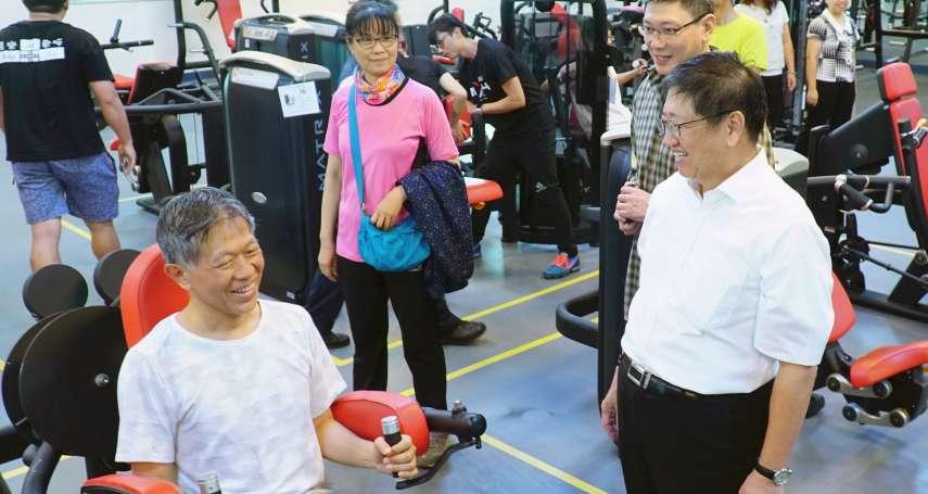 竹北國運中心試營運 每年提撥1%改善學校運動設施