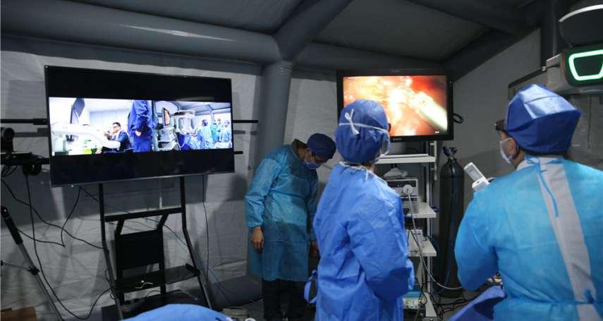 打破時間空間限制,中國醫院拉開「5G醫療」序幕
