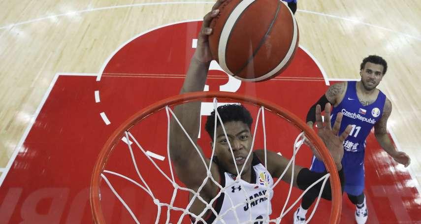 世界盃男籃》日本大將八村壘將缺席剩餘賽事 「這是一個艱難的決定」