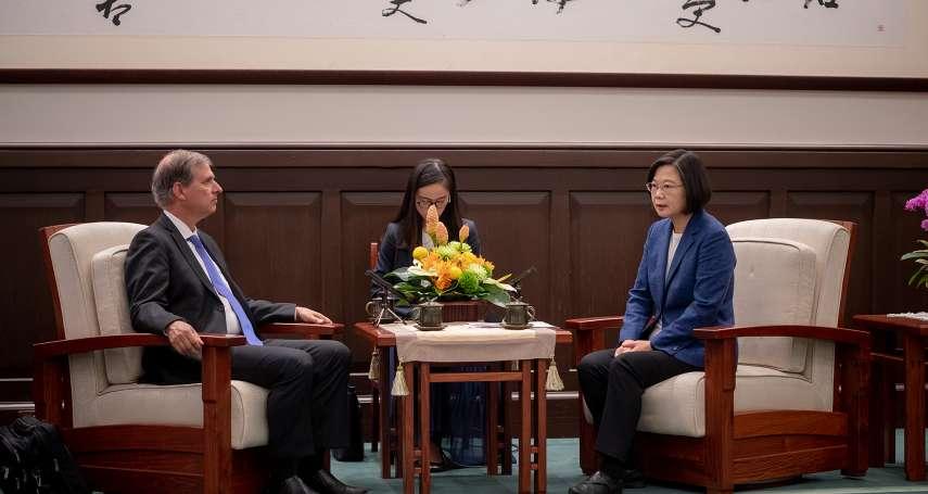 台美將共同舉辦首屆「印太民主治理諮商對話」 蔡英文:期待將台灣經驗分享給區域夥伴