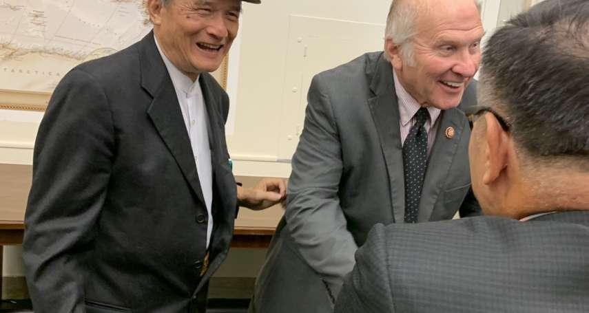 台灣入聯宣達團拜會美國會議員 籲正視香港人權與關注李孟居被關押