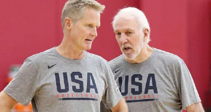 世界盃男籃》擔任美國隊助教受益良多 柯爾盼將執教經驗帶回勇士