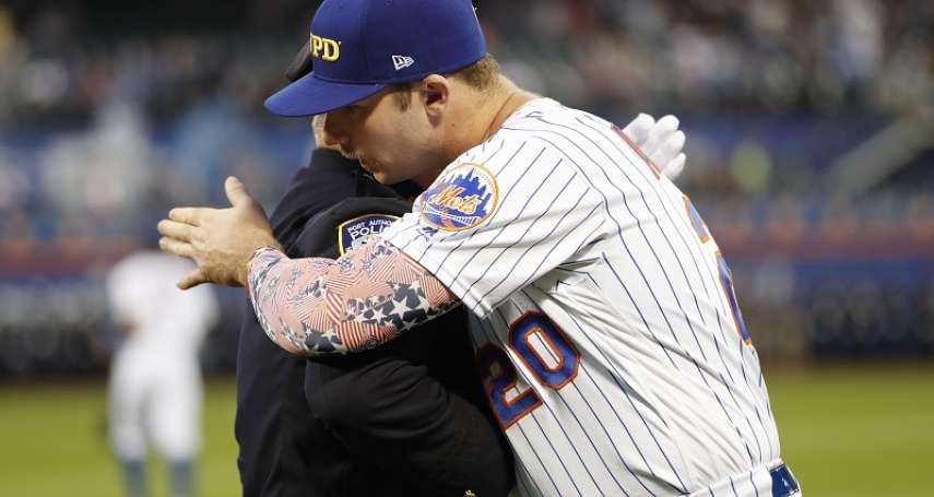 MLB》阿隆索911紀念帽遭拒引熱議 大聯盟事務官托瑞對此有話要說